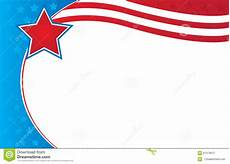Patriotic Template Patriotic Border Flyer Template Stock Illustration
