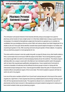 Pharmacy Essays Excellent Pharmacy Personal Statement Sample With Images