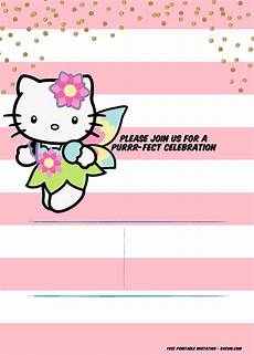 Hello Kitty Birthday Template Free Hello Kitty Unicorn Invitation Template Free