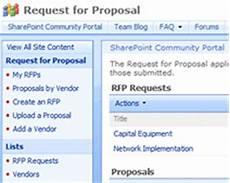 Sharepoint Proposal Template Gratis Sharepoint Templates