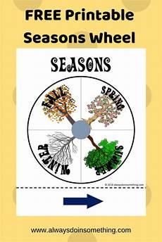 Season Wheel Chart Free Seasons Wheel