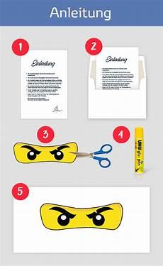 Ninjago Malvorlagen Augen Zum Ausdrucken Ninjago Einladungskarten Zum Kindergeburtstag Oder