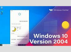 Windows 10 April 2020 Update   Official Release Demo