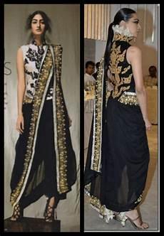 Dhoti Saree Design How To Wear Designer Saree Dhoti Saree Pant Style Saree