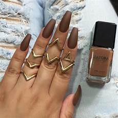 Light Brown Nail Color 16 Brown Nails That Are Better Than Gravy Brown Nails
