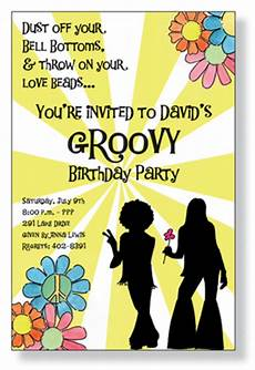 Invitations Decades Invitations Amp Stationery Hippies