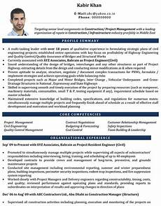 Professional Cv Format For Engineers Professional Cv Format For Engineers 3 Amazing