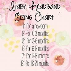 Foe Headband Chart How To Diy Baby Headband Babyheadband Diybabyheadband