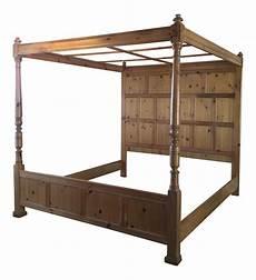 henredon pine panel headboard canopy bed panel headboard