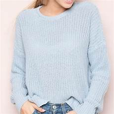 Melville Light Blue Sweater 55 Off Melville Sweaters Melville Bronx