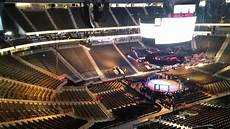 T Mobile Arena Seating Chart View T Mobile Arena Ufc 200 Section 201 Row J Youtube