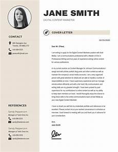 Cover Letter Design Examples 20 Creative Cover Letter Templates To Impress Employers