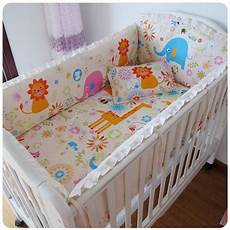 promotion 6pcs cotton crib sheets baby bedding sets