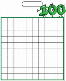Fill In 100 Chart Blank Hundred Filling Chart Free Download