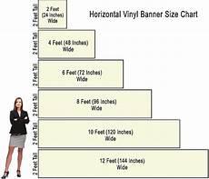 Banner Size Chart 2x2 Vinyl Banners 2x4 Vinyl Banners 2x6 Vinyl Banners