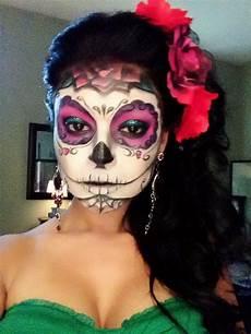17 best images about half sugar skull makeup on