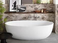 vasca in corian vasca da bagno centro stanza ovale in corian 174 corian