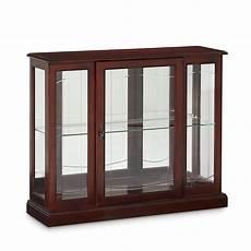 darby home co purvoche console curio cabinet reviews