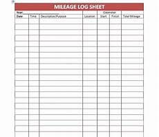 Gas Log Template 31 Printable Mileage Log Templates Free ᐅ Mileage