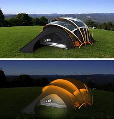 Light Tent Solar Powered Tent Lets You Light Up Your Night
