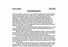 College Autobiographical Essay Example How To Write A Autobiography College Application Essay