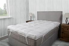 hotel quality 4 inch 10cm thick cotton mattress topper