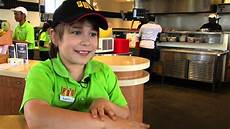 How To Get A Restaurant Job Pdq Restaurant Gives 10 Year Old With Autism Chance To