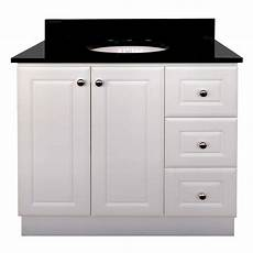 magick woods 36 inch vanity cabinet in matte white the