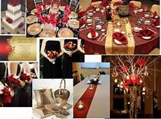 red ivory and black colors weddings planning style