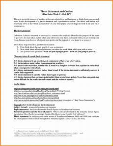 Narrative Essay Thesis Examples Research Paper Outline For Children