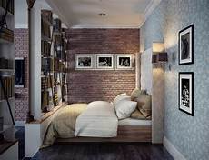 Bedroom Ideas For Apartments 2 Single Bedroom Apartment Designs 75 Square Meters