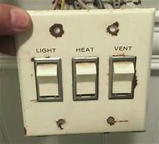 Bathroom Light Switch Location Old Bathroom Switch Needs Replacement Doityourself Com