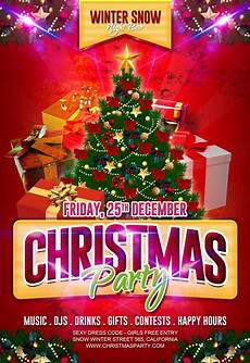 Work Christmas Party Flyer 30 Free Christmas Party Flyers And New Year Party Flyer