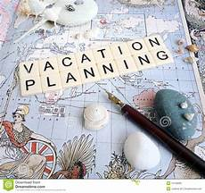 Planning For Vacation Vacation Planning Concept Stock Image Image Of Concept