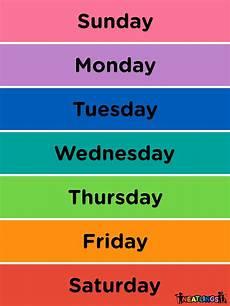 Week Calander Calendar For Kids Free Printable Calendar For Kids Chore
