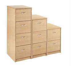 4 drawer executive wooden filing cabinet