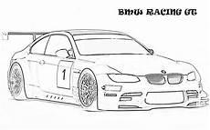 bmw gt racing ausmalbilder cars coloring pages race car