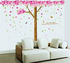 large cherry blossom flowers tree removable wall