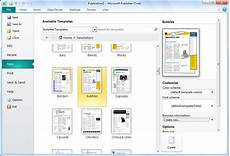 Template For Publisher Microsoft Publisher Download