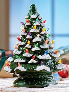 Ceramic Lighted Christmas Trees For Sale Ceramic Christmas Tree With Colorful Plastic Bulbs