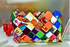 How To Make Candy Wrappers Crazy Diy Projects Made From Candy Wrappers