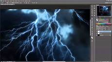 Lighting Tutorial Creating Realistic Lightning Effect In Photoshop Tutorial