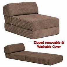 z bed memory foam fold out bed chair mattress