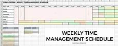 Time Management Schedule Template My Time Management Schedule Amp How I Get The Most Out Of