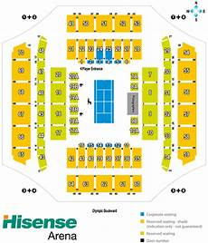 Forum Melbourne Seating Chart Melbourne Arena Seating Map Hisense Arena Austadiums