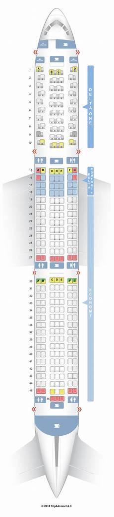 767 Jet Seating Chart Seatguru Seat Map Delta Boeing 767 400er 76d Seatguru