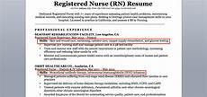 Rn Skills Resumes Registered Nurse Rn Resume Sample Amp Tips Resume Companion