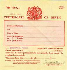 Birth Certificate Example Birth Certificate Uk Certificates Templates Free