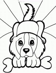printable dogs coloring pages to