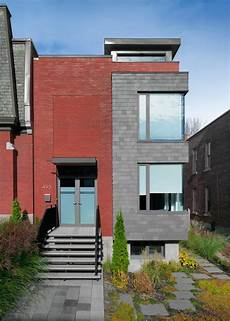Home Design Store Montreal A Semi Detached House On A Hill In Montreal Design Milk